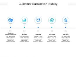 Customer Satisfaction Survey Ppt Powerpoint Presentation Inspiration Cpb