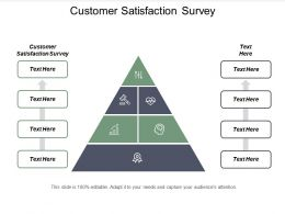 Customer Satisfaction Survey Ppt Powerpoint Presentation Portfolio Samples Cpb