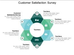 Customer Satisfaction Survey Ppt Powerpoint Presentation Slides Display Cpb