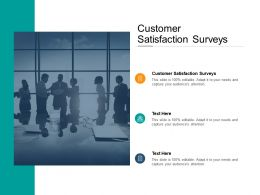 Customer Satisfaction Surveys Ppt Powerpoint Presentation File Influencers Cpb