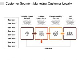 Customer Segment Marketing Customer Loyalty Survey Customer Marketing Channels Cpb