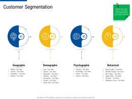 customer segmentation factor strategies for customer targeting ppt diagrams
