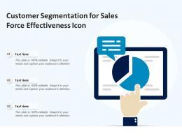 Customer Segmentation For Sales Force Effectiveness Icon