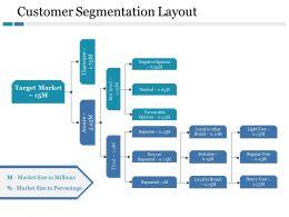 Customer Segmentation Layout Market Size In Percentage