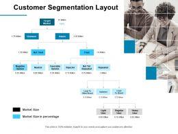 Customer Segmentation Layout Ppt Powerpoint Presentation Infographics Summary