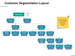 Customer Segmentation Layout Ppt Professional Slideshow