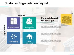 Customer Segmentation Layout Slide2 Ppt Professional Smartart