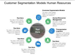 Customer Segmentation Models Human Resources Management Transportation Logistics Cpb