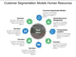 Customer Segmentation Models Human Resources Management Transportation Logistics Cpb
