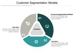 Customer Segmentation Models Ppt Powerpoint Presentation Ideas Tips Cpb