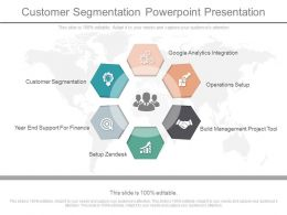 Customer Segmentation Powerpoint Presentation