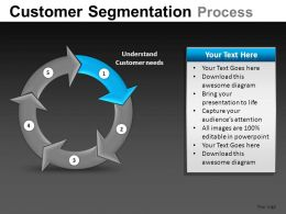 Customer Segmentation Powerpoint Presentation Slides DB