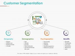 Customer Segmentation Powerpoint Slide Backgrounds