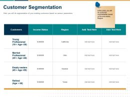 Customer Segmentation Ppt Powerpoint Presentation File Rules