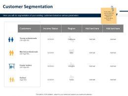 Customer Segmentation Ppt Powerpoint Presentation Pictures Slide Portrait