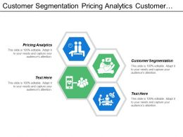 Customer Segmentation Pricing Analytics Customer Loyalty Analysis Sales Marketing