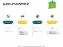 Customer Segmentation Product Competencies Ppt Sample