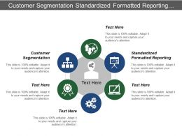 Customer Segmentation Standardized Formatted Reporting Data Processing Analysis