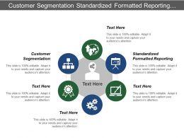 Customer Segmentation Standardized Formatted Reporting Data Processing Analysis