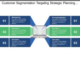 Customer Segmentation Targeting Strategic Planning Change Management Strategy Cpb