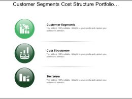 Customer Segments Cost Structure Portfolio Management .Quality Assurance