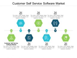 Customer Self Service Software Market Ppt Powerpoint Presentation Icon Grid Cpb