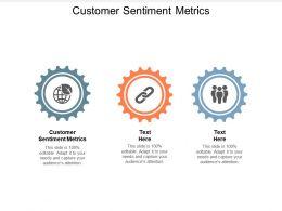Customer Sentiment Metrics Ppt Powerpoint Presentation Outline Files Cpb