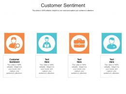 Customer Sentiment Ppt Powerpoint Presentation Professional Structure Cpb