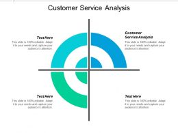 Customer Service Analysis Ppt Powerpoint Presentation Icon Designs Cpb