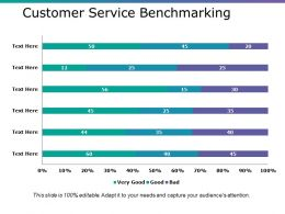 Customer Service Benchmarking Ppt Files