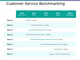 Customer Service Benchmarking Ppt Layouts Example Topics