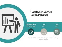 Customer Service Benchmarking Ppt Powerpoint Presentation Portfolio Layout Cpb