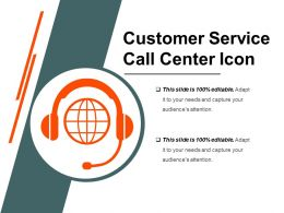 Customer Service Call Center Icon