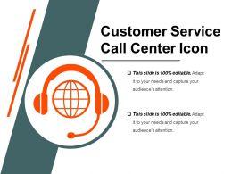 Customer Service Call Center Icon