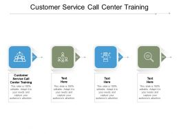 Customer Service Call Center Training Ppt Powerpoint Presentation Inspiration Pictures Cpb