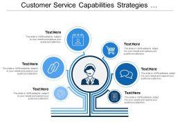 Customer Service Capabilities Strategies And Transformation