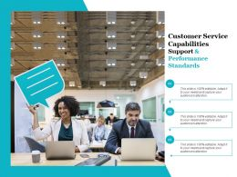 Customer Service Capabilities Support And Performance Standards
