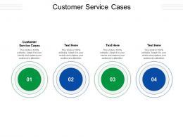 Customer Service Cases Ppt Powerpoint Presentation Portfolio Designs Cpb