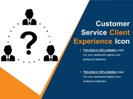 Customer Service Client Experience Icon