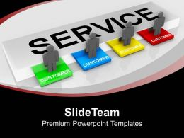 Customer Service Concept Communication Powerpoint Templates Ppt Backgrounds For Slides 0113