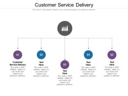 Customer Service Delivery Ppt Powerpoint Presentation File Download Cpb