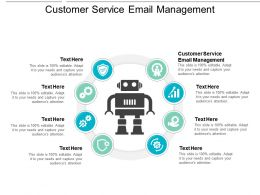 Customer Service Email Management Ppt Powerpoint Presentation Summary Outline Cpb