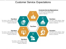 Customer Service Expectations Ppt Powerpoint Presentation Ideas Elements Cpb