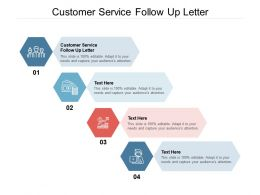 Customer Service Follow Up Letter Ppt Powerpoint Presentation Visual Backgrounds Cpb