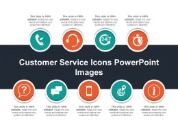Customer Service Icons Powerpoint Images