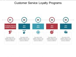 Customer Service Loyalty Programs Ppt Powerpoint Presentation Summary Visuals Cpb
