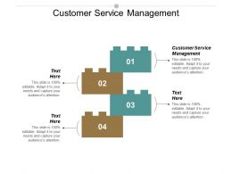 Customer Service Management Ppt Powerpoint Presentation Model Layouts Cpb