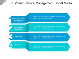 Customer Service Management Social Media Marketing Six Sigma Cpb