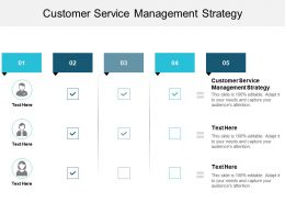 Customer Service Management Strategy Ppt Powerpoint Presentation Portfolio Demonstration Cpb
