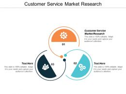 Customer Service Market Research Ppt Powerpoint Presentation Gallery Outline Cpb